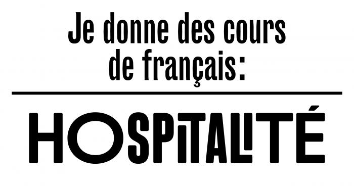 Je donne des cours de français - Hospitalité