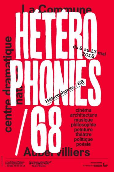 visuel Hétérophonies/68